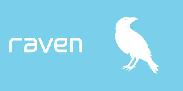 Raven_white_letter_with_white_bird_blue_background.png